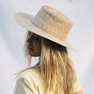 Lack of Color Palma Boater Straw Hat